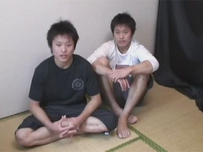 【ゲイ動画】18歳のうぶな雰囲気の2人の素人の男がアナルセックスで愛し合う姿を見せてくれる!