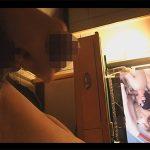 【ゲイ動画】メンズラッシュTVの作品を見ながらローションをチンポにたっぷり塗って手淫し激射精するアジア人!