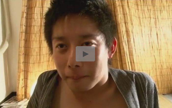 【ゲイ動画】ふんどしを着用した18歳のヤングボーイがゴーグルマンとアナルセックスをしてしまう!