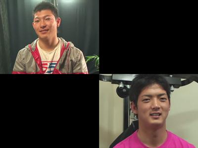 【ゲイ動画】オモチャを使われた状態でチンコとアナルを犯され続けている男の姿が見られる!
