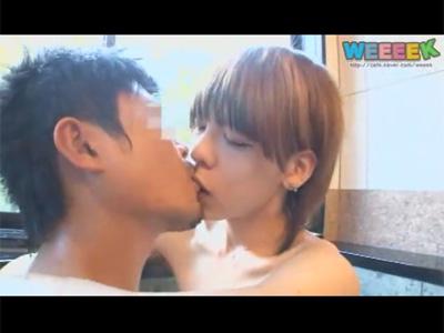 【ゲイ動画】お風呂でイチャつき続きはベッドで…!色白で細くて可愛らしいジャニーズ系の美少年がBLセックス!