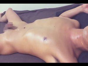 【ゲイ動画】口内射精で精液を味わいチンピクさせてメスイキの余韻を味わいつつ種付けザーメンを逆流させる変態素人!