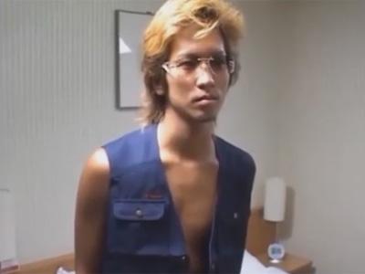 【ゲイ動画】19歳の金髪のヤンキーのオラオラ系の素人がゴーグルマンに犯されてアナルセックスを楽しみまくる!