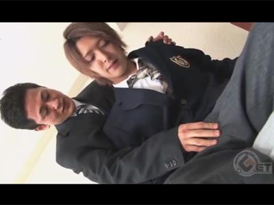 【ゲイ動画】生徒と先生の秘め事BL!教え子の思春期ケツマンを生チンポでガン掘りし胸やお腹にザーメンをぶちまける!