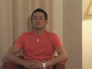 【ゲイ動画ビデオ】180cmの長身で坊主の野球をしている素人がオナニーをしている姿を見せてくれる!