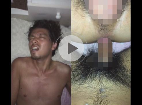 【無修正ゲイ動画】チンコとアナルのアップの映像で正常位のアナルセックス姿を楽しめる!