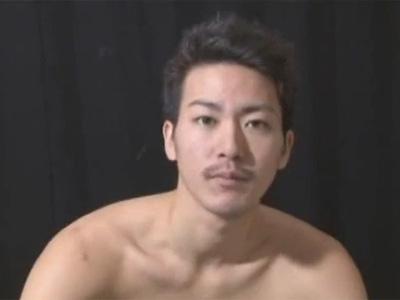 【ゲイ動画】長身のスジ筋イケメン中島直人クンがゴーグルマンを相手にちょっとSっぽい責め方でアナルセックス!