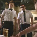 【ゲイ動画】経営するゲイバーにオーナーがお忍びで視察!悪い接客態度に激昂しイケメン店員を脅迫レイプ!