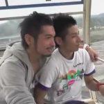 【ゲイ動画】観覧車でデートをしているイカニモ系と細身の男がホテルに移動してアナルセックスで愛し合う!