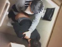【無修正ゲイ動画】中国人のホモもトイレで盛る!誰にも邪魔されない個室でフェラチオやセックスしていたところを盗撮!