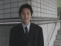 【ゲイ動画】スーツ姿のイケメンがオナニー姿を見せてくれてオナホールを使ってチンコをしごきまくっちゃう!