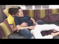 【ゲイ動画】スジ筋の2人がアナルセックスを楽しんで顔射をしながら昇天をする姿が見られちゃう!